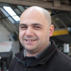 Mario Neophytou - Vehicle Technician and MOT Tester